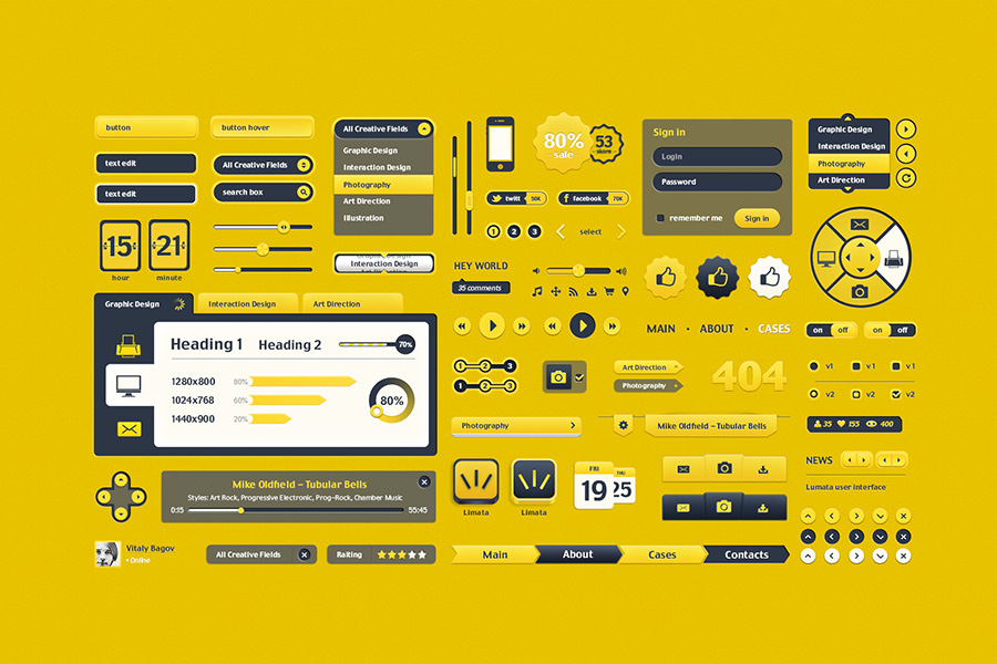 Free User Interface Vitaly Bagov